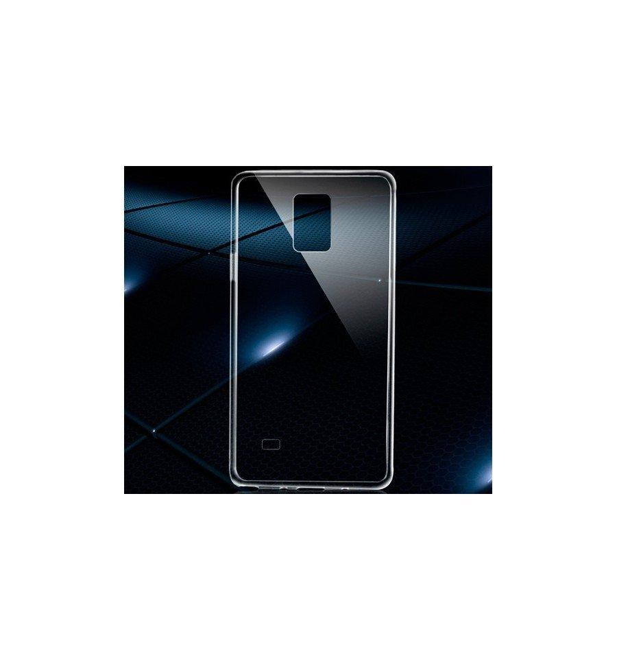 Funda Carcasa Gel Transparente 100% Silicona TPU de Alta Resistencia y Flexibilidad, Ultra Fina 0,33mm para SAMSUNG GALAXY NOTE 4 sm-910F 3