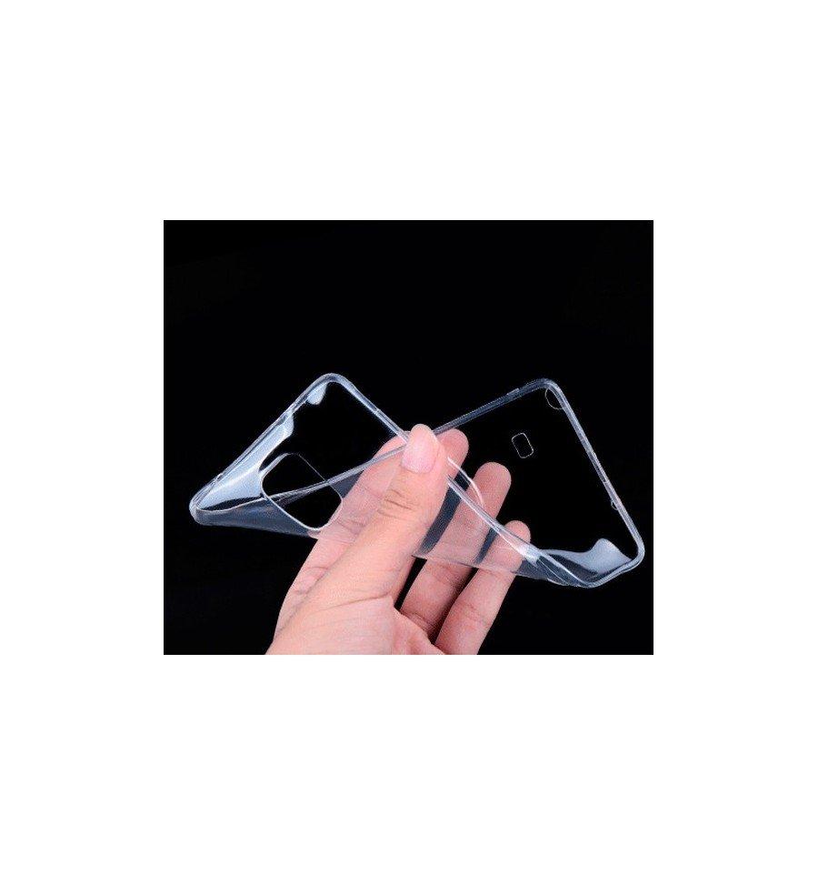 Funda Carcasa Gel Transparente 100% Silicona TPU de Alta Resistencia y Flexibilidad, Ultra Fina 0,33mm para SAMSUNG GALAXY NOTE 4 sm-910F 11