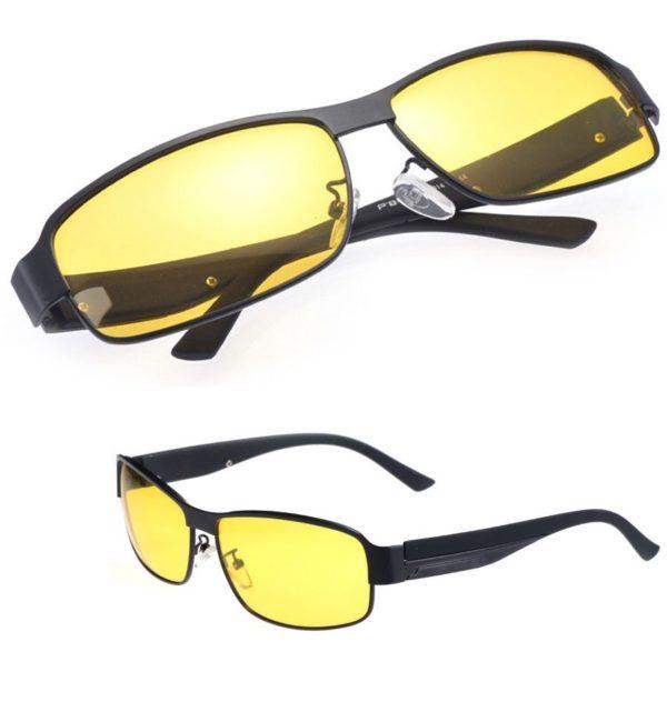 Gafas de sol polarizadas para visión nocturna y en baja visibilidad 2