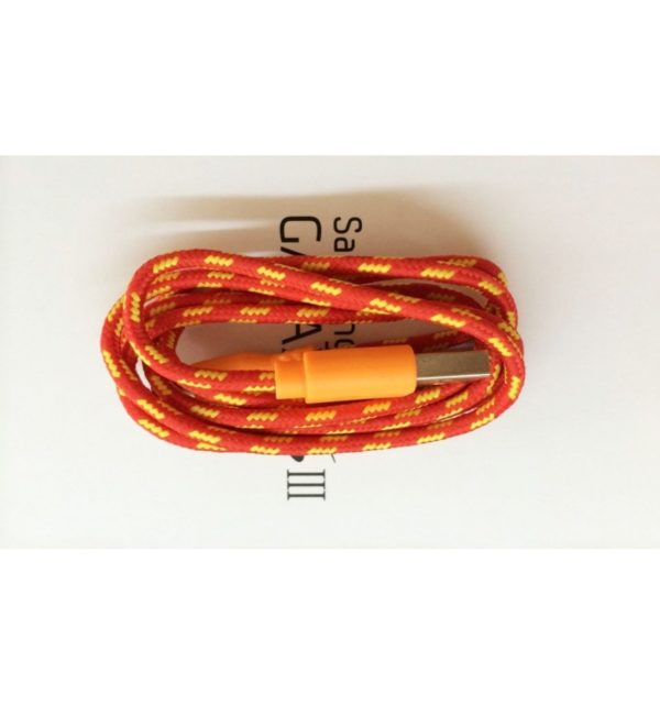 Cable Micro USB de colores (1M) trenzado de Nylon 28