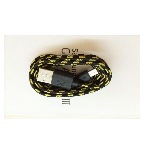Cable Micro USB de colores (1M) trenzado de Nylon 6