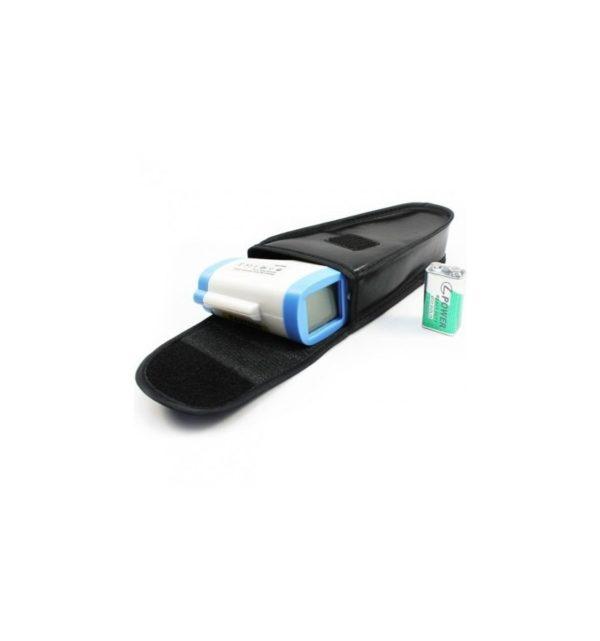 Termómetro infrarrojo, sin contacto, LCD, Digital con funda 5