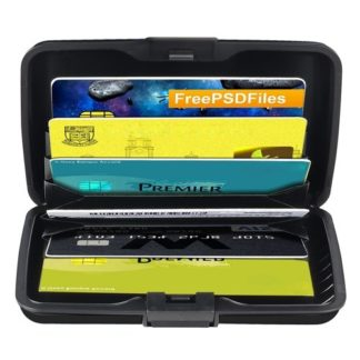 Automatic Business Card Holder Pop Up Case Credit Card Protector