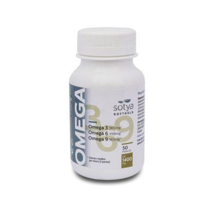 SOTYA - SOTYA Omega 3,6,9 (O.P.O) 50 perlas 1400 mg