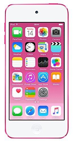 """Apple iPod Touch - Reproductor MP4 (pantalla 4"""", Apple A8, 32 GB, 1136 x 640p, cámara 8 Mp, iOS 8), color rosa"""