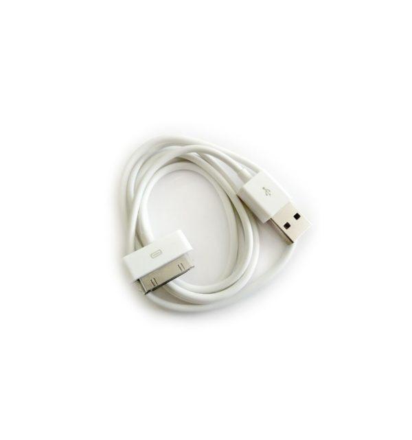 Cable USB CARGA Y DATOS para IPhone 2G, 3G, 3GS, 4, 4S, iPad, iPad 2, iPod Classic, iPod Nano, iPod Video 8