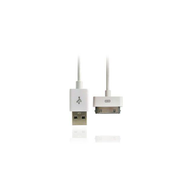 Cable USB CARGA Y DATOS para IPhone 2G, 3G, 3GS, 4, 4S, iPad, iPad 2, iPod Classic, iPod Nano, iPod Video 10