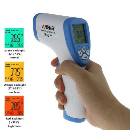 termómetro digital de infrarrojos bebé adulto