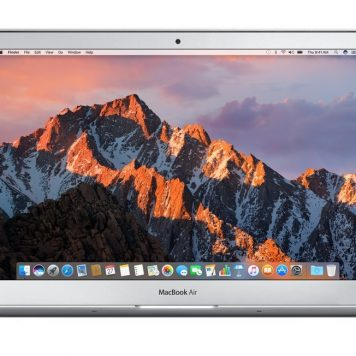 "Apple MacBook Air - Ordenador portátil de 13"" (Intel Core i5, 8 GB RAM, 128 GB, macOS Sierra), color gris - Teclado QWERTY español"