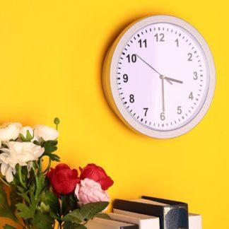 reloj de pared moderno con caja fuerte oculta, joyería secreta Relojes de seguridad Caja de dinero en efectivo