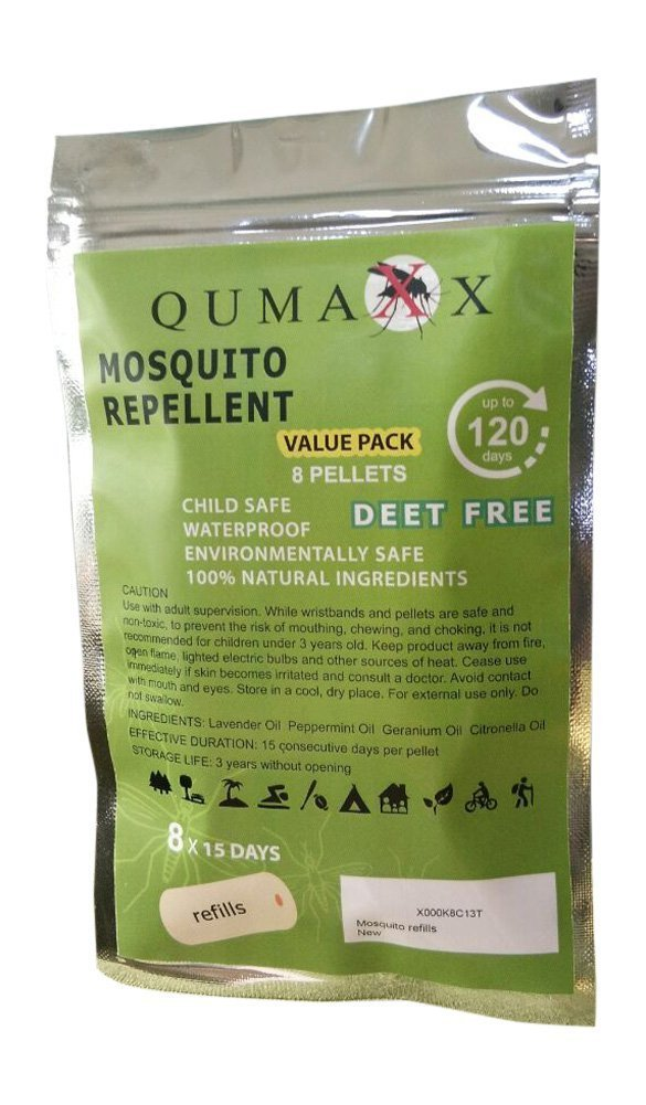 8 envases de recambio de pastillas para la protección contra los mosquitos - Paquete de recambio para 120 días para Urban Living ANTIMOSQUITOS 1