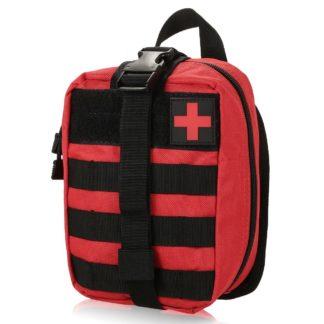 Médico Bolsa Botiquín de Primeros Auxilios Supervivencia Emergencia para Hogar Camping Caza