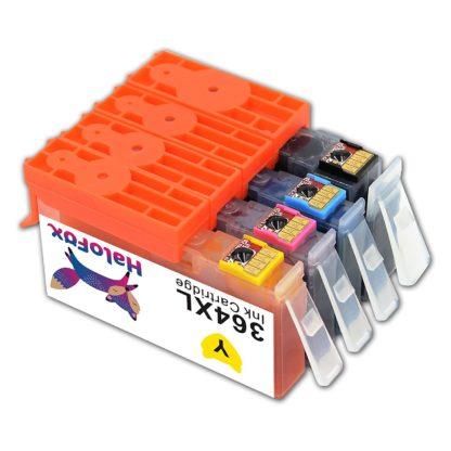 Cartuchos de Tinta 364XL Combo Multipack 364 XL Alto Rendimiento Compatible para HP DeskJet 3520 3070A OfficeJet 4620 Photosmart 5510 5514