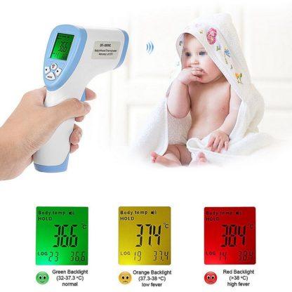 termómetro digital de infrarrojos bebé