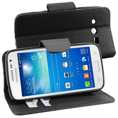 para Samsung Galaxy Core 4G SM-G386F [Dimensiones PRECISAS de su aparato : 132.9 x 66.3 x 9.8 mm, pantalla 4.5''] - Funda Carcasa Estuche