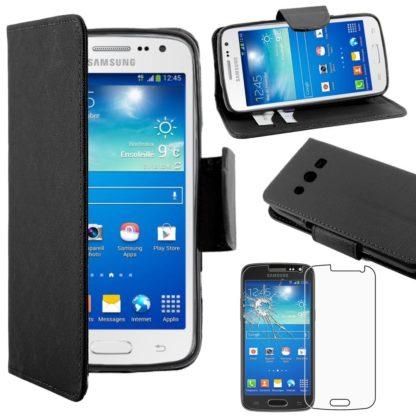Samsung Galaxy Core 4G SM-G386F [Dimensiones PRECISAS de su aparato : 132.9 x 66.3 x 9.8 mm, pantalla 4.5''] - Funda Carcasa Estuche