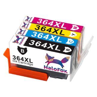Cartuchos de Tinta 364XL Combo Multipack 364 XL Alto Rendimiento Compatible para HP DeskJet 3520 3070A OfficeJet 4620 Photosmart 5510 5514 5515