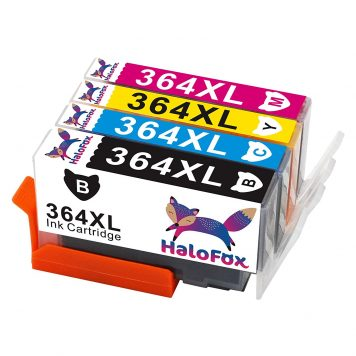 Cartuchos de Tinta 364XL Combo Multipack 364 XL Alto Rendimiento Compatible para HP DeskJet 3520 3070A OfficeJet 4620 Photosmart 5510 5514 5515