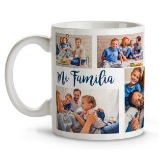 Taza personalizada con tu foto, diseño o texto. Regalo único, original y exclusivo. Color blanco