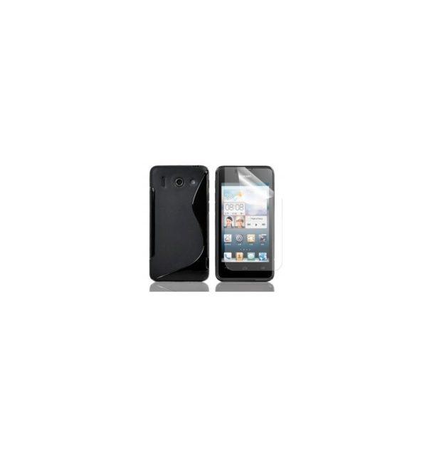 3x Protector de Pantalla para Huawei Ascend G510 / Orange Daytona 2