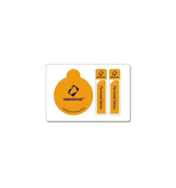 6 x Protectores de Pantalla Membrane para BQ Aquaris 5 - Transparente, Embalaje y accesorios 12
