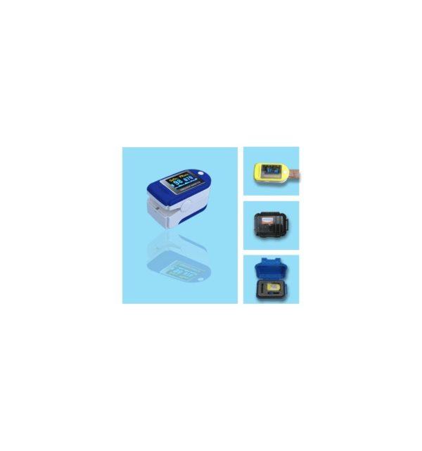 Pulsioxímetro Digital CMS 50D Profesional LED Monitor saturado 4