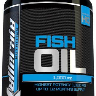 Aceite de Pescado Omega 1000 mg- 365 cápsulas softgel - Fabricado en el Reino Unido - Suplemento de Alta Potencia Aceite de Pescado Omega 3 - Omega 3 6 9